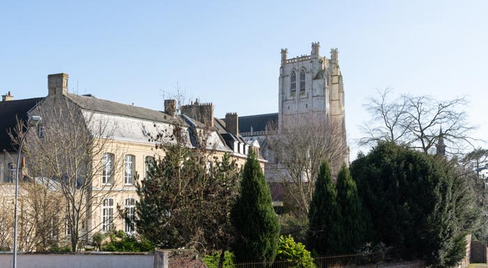 cathédrale notre dame Saint Omer